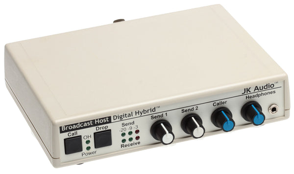 JK Audio Broadcast Host Digital Hybrid Audio Console Phone Line Interface IFB [Refurbished]-www.prostudioconnection.com
