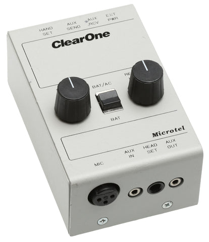 ClearOne Gentner Microtel Broadcast Telephone Handset Line Interface Recording [Refurbished]-www.prostudioconnection.com