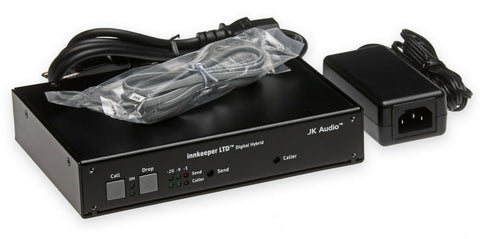 JK Audio Innkeeper LTD Digital Hybrid Audio Console/Mixer Phone Line Interface [Refurbished]-www.prostudioconnection.com