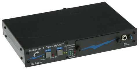 JK Audio Innkeeper 1 Digital Hybrid Broadcast Host Phone Line Audio Interface [Refurbished]-www.prostudioconnection.com