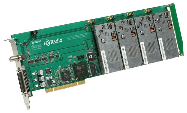 AudioScience ASI8914 4x AM/FM/HD Radio Broadcast Tuner PCI Card Skimmer Logger [Refurbished]-www.prostudioconnection.com