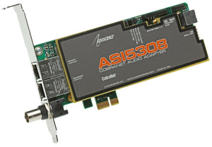 AudioScience ASI5308 Cobranet 8 Channel AoIP Streaming Audio Sound Card 5308 [Refurbished]-www.prostudioconnection.com