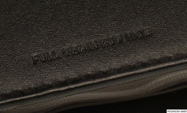 Real Leather Full Grain Cowhide Photo Album Folio Proof Book for 24 5x4 Prints [Used]-www.prostudioconnection.com