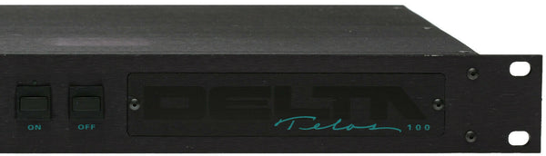 Telos 100 Delta Digital Broadcast Hybrid Phone Line Audio Console Interface IFB [Refurbished]-www.prostudioconnection.com