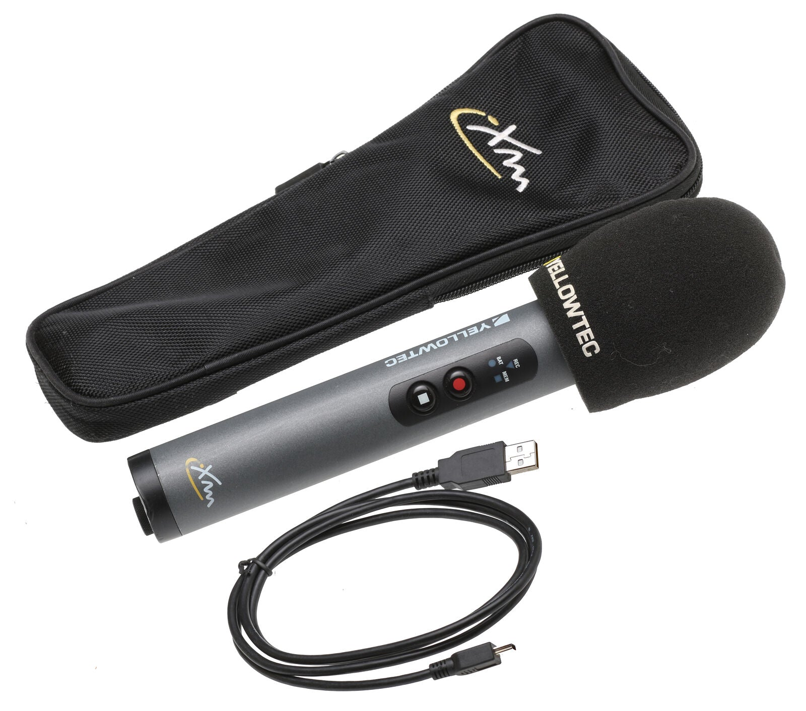 Yellowtec iXm YT5050 Pro Head Cardioid SD Card Recording Microphone Mic w/ Case [Refurbished]-www.prostudioconnection.com