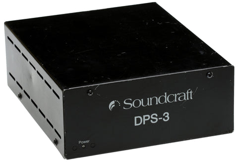 Soundcraft Spirit RW8032 DPS3 Console Power Supply GB8 Live 8 Series Two DPS-3 [Used]-www.prostudioconnection.com