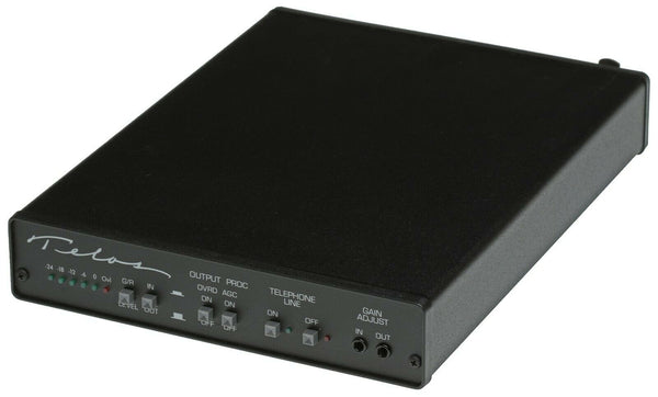 Telos One Cased Digital Hybrid Broadcast Phone Line Audio Console Interface IFB [Refurbished]-www.prostudioconnection.com