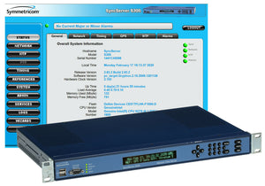 Symmetricom SyncServer 1520R-S300 GPS Stratum 1 NTP Server Network Time Receiver [Refurbished]-www.prostudioconnection.com