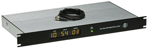 ESE ES-102U GPS Satellite SMPTE/EBU TC90 Timecode Atomic LED Clock Time Receiver [Refurbished]-www.prostudioconnection.com