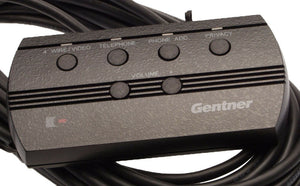 Gentner TI/GT Wired 6 Button 4 LED Conference Hybrid Remote Control 910-110-100-www.prostudioconnection.com