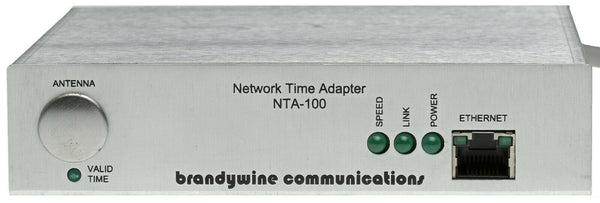 Brandywine NTA-100 NTP Client Network Time Server RS-232 RS-485 Serial Output [Used]-www.prostudioconnection.com