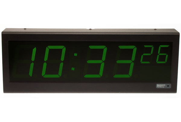 Spectracom 8177 TimeView TV 400 Serial RS-485 Large 4in LED Clock Display * NEW-www.prostudioconnection.com
