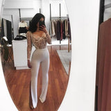 lace bodysuit women jumpsuit