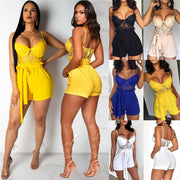 Fashion Women Clubwear Shorts Sexy Lady Playsuit Bodycon Party Jumpsuit Pop Romper