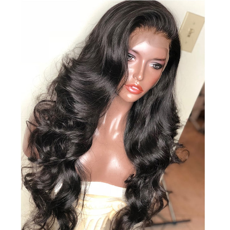 Body Wave 13x6 Lace Front Human Hair Wigs Brazilian Lace Frontal Wig Bob 250 Desnity Fake Scalp Glueless Full Swiss Dolago Wig