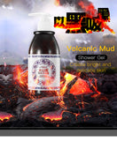 La Milee Volcanic Mud Shower Gel Whole Body Wash Fast Whitening Deep Clean Skin Moisturizing Exfoliating Body Care 250ml