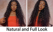 Curly Wig Deep Part 13x6 Lace Front Human Hair Wigs Transparent Lace Wigs Preplucked Peruvian Lace Front Wigs Natural Hair Remy