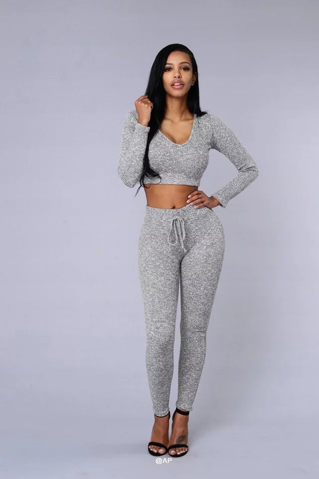 Sexy Pants And Shout t shirt Women Sweatsuits  Two 2 Piece Set Navel Women Cropped Tracksuit Set Suits Track Suit Female