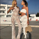 Sexy Tassel 2 Piece Set Sleeveless Crop Top Women Casual Two Piece Set Solid Fashion Tracksuits Ladies Two Piece