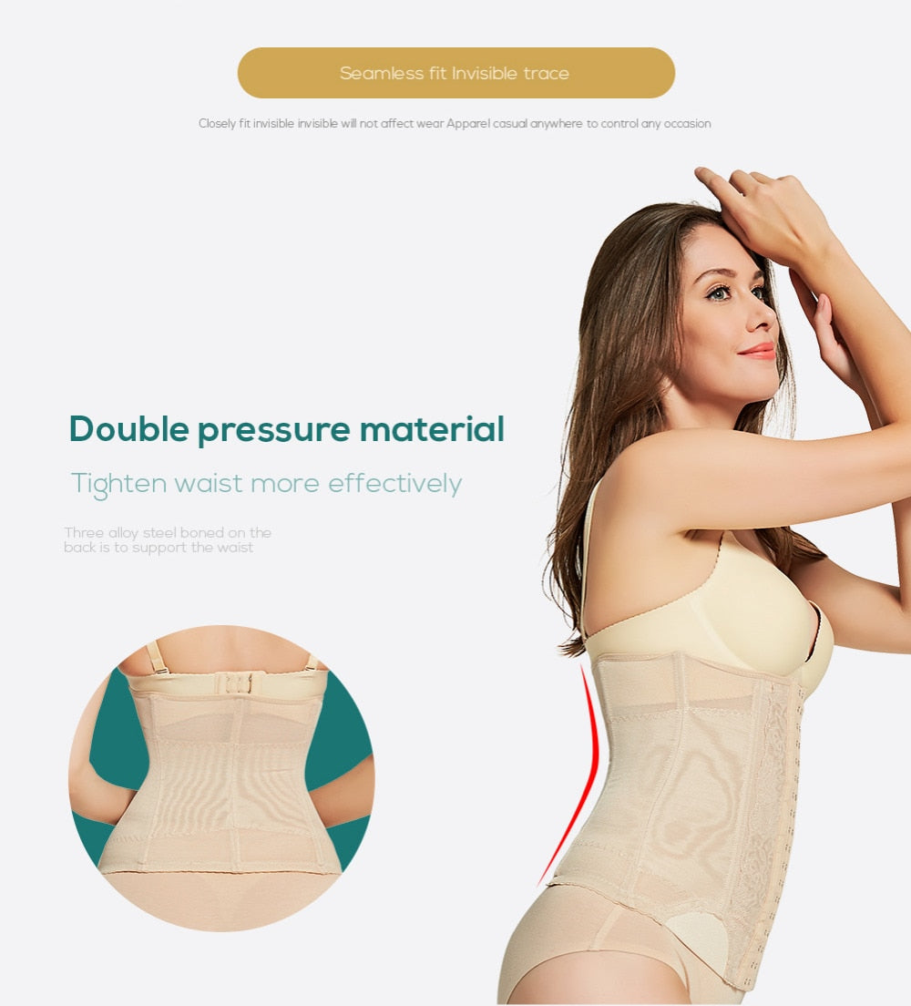 Waist trainer Body Shaper women shapers Corset Slimming Underwear Shapewear Slimming Belt Slimming Belt modeling strap shaper