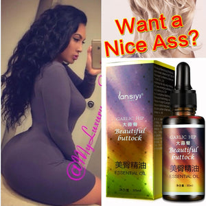 Best Effective Coffee Ginger Chili Hip Lift Up Lifting Bigger Buttock Cream Big Ass Enlargement Butt Lift Enhancer Oil