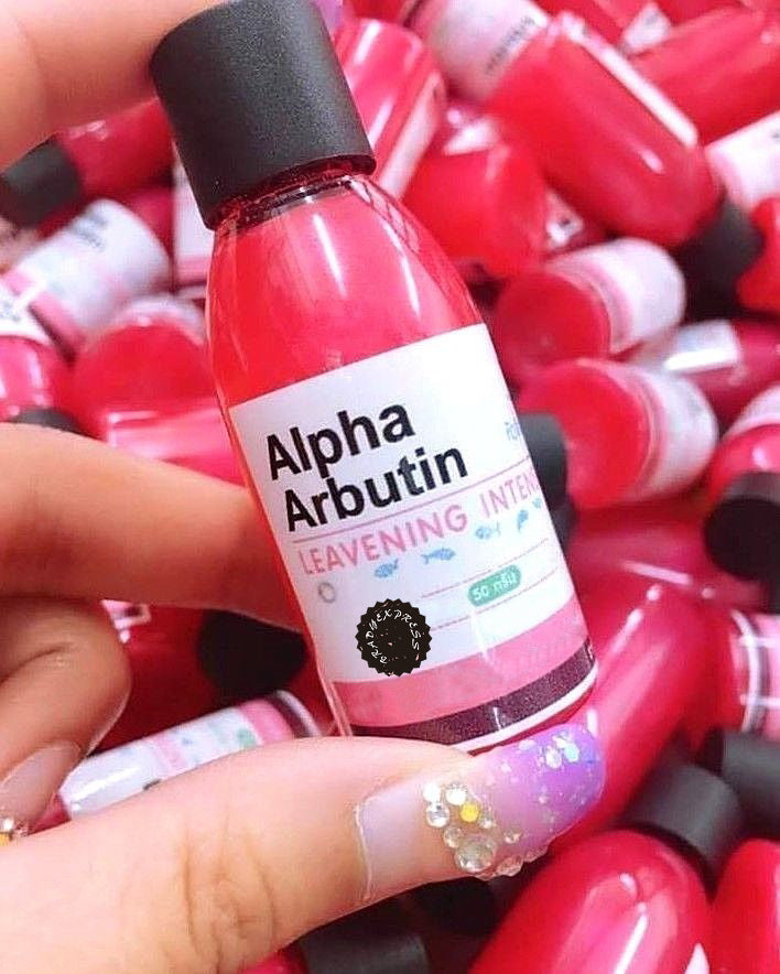 Intensive Alpha arbutin Booster whitening Lightening Dark spots MIX Cream Lotion Free Ship