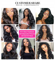 Unice Hair 13*4/6 Lace Front Human Hair Wig Pre Plucked With Baby Hair Brazilian Remy Body Wave Wig 360 glueless lace wig