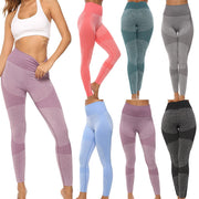 Women's Seamless Yoga Set Sportswear Fitness Bra Sports Suits GYM High Waist Running Leggings Workout Pants Quick-drying