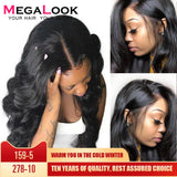 4x4 6x6 Closure Wigs Lace Closure Wig Remy Natural 30inch Megalook Hair Brazilian Human Hair Wigs Lace Closure Wig Body Wave Wig
