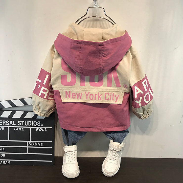 Baby autumn and winter new warm clothing children&