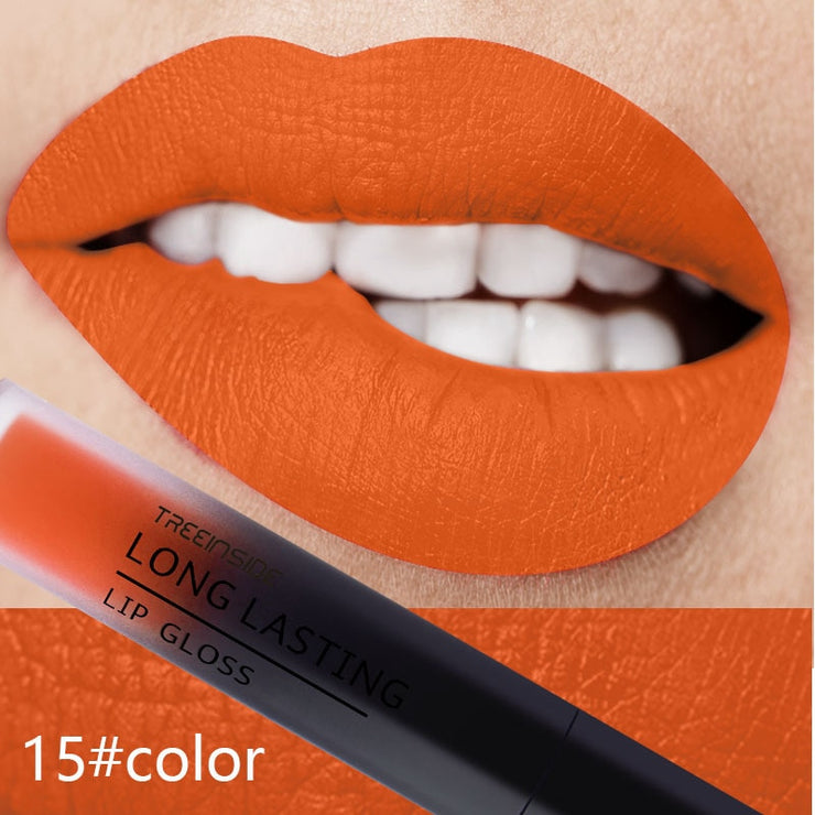 24 Color Liquid Lipstick Matte Makeup Waterproof Red Lip Long Lasting Gloss Mate Black Lip Stick Matte Liquid Lipsticks