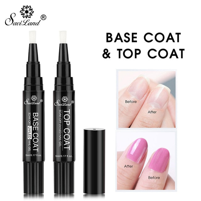 One-Step Easy Gel Nail Polish Pen, Various Lush Colors!
