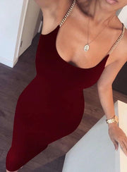 High Quality White Black Sleeveless Celebrity Rayon Bandage Dress Night Club Party Bodycon Dress
