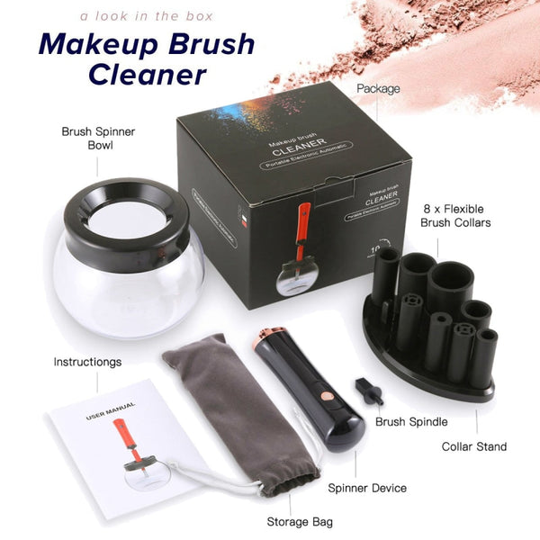 Electric Makeup Brush Cleaner Convenient Silicone Make up Brushes Washing Cleanser Cleaning Tool Machine New New