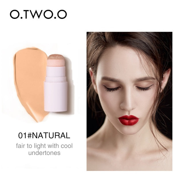 Air Cushion Concealer Stick Full Cover Contour Face Makeup Lasting Foundation Base Hide Blemish Pores Bronzer Cosmetic