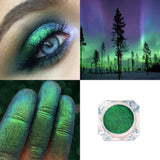 New Glitter Eye Shadow Powder 1PC Waterproof Glitter Pigment Eyeshadow Powder Long Lasting Shimmer Diamond Eyeshadow