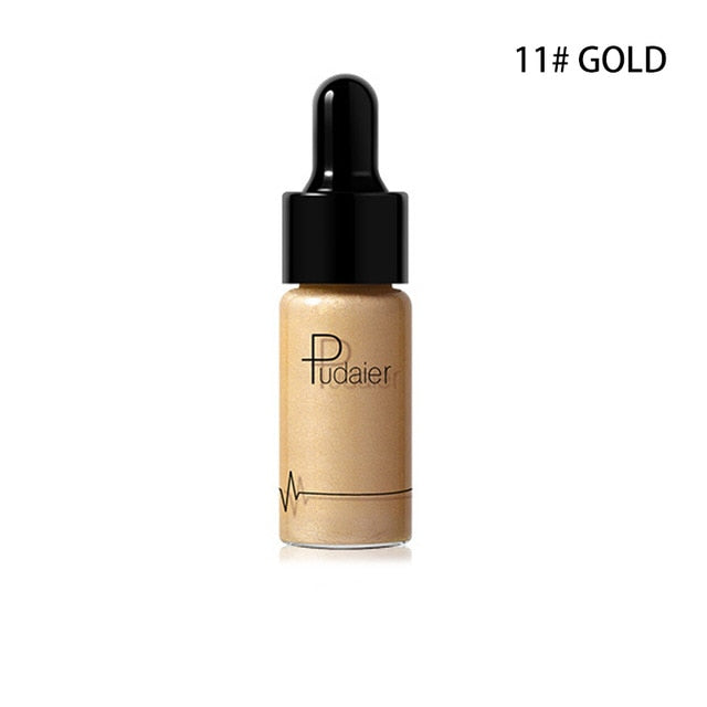 Face Highlighter Long-Lasting Highlighter Illuminator Makeup Shimmer Glow Facial Shiny Bronzer Face Cosmetic Maquillage