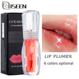 Moisturizer Plumper Lip Gloss Long Lasting Sexy Big Lips Pump Transparent Waterproof Volume Lip Lipgloss Vivid Colorful Lipgloss