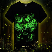 Load image into Gallery viewer, Animal printed creative 3d LED t shirt