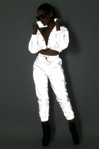 Two-Piece Reflective Set or Reflective Jumpsuit