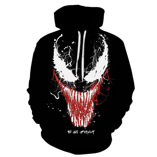 3D Print Hoodies 10 different types available