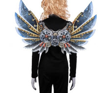 Load image into Gallery viewer, Burning Man Carnival steamPunk Wings