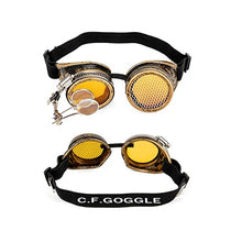Load image into Gallery viewer, Punk Gothic Goggles Different Lens Rainbow