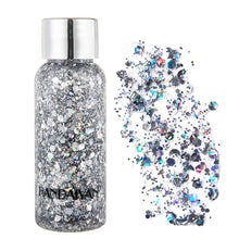 Load image into Gallery viewer, Holographic Mermaid Glitter Gel Body Face Eye Shadow - Rave Alien