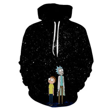 Load image into Gallery viewer, Rick and Morty 3D Hoodie