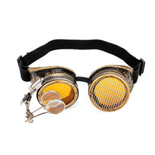Load image into Gallery viewer, Steampunk Goggles Cosplay Punk Vintage Glasses