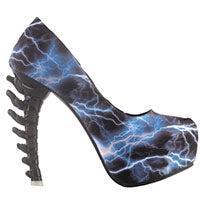 Load image into Gallery viewer, Spine Bone Platform Heels Multi-Chromatic