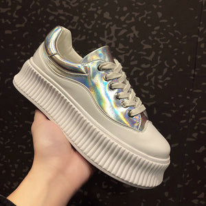 Platform Hidden Wedge sneakers