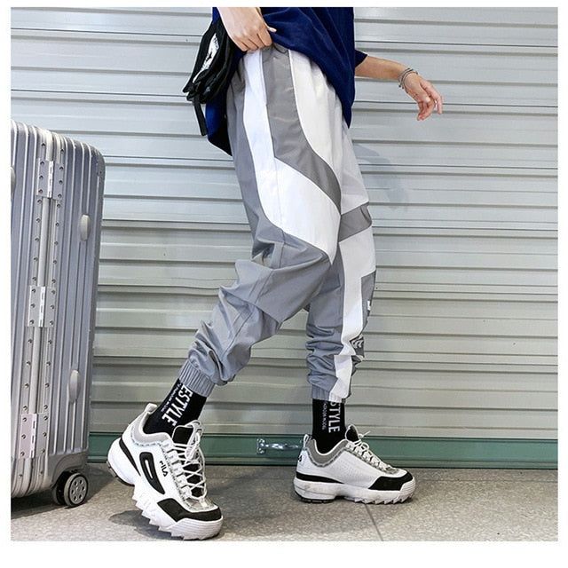 Reflective Pants With Patterns