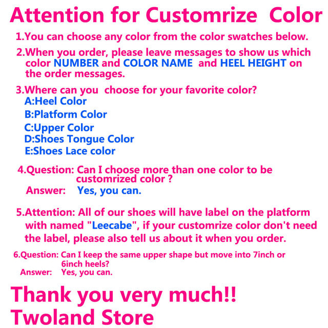 Leecabe Mixed color Upper Color 20CM/8Inch Women's Platform Sandals  party High Heels Shoes Pole Dance bootie